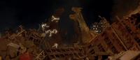 GMK - Ghidorah Releases Godzilla.png