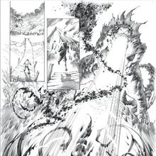 Concept Art - Godzilla Awakening - Godzilla Kills One Shinomura.png