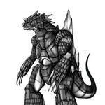 Concept Art - Godzilla Against MechaGodzilla - Kiryu 32.png