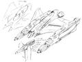 Concept Art - Godzilla vs. MechaGodzilla 2 - Garuda 4