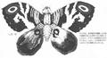 Concept Art - Godzilla vs. Mothra - Mothra Imago 1