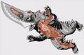 Gamera - 5 - vs Guiron - 99999 - 20 - Guiron Anatomy