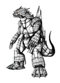 Concept Art - Godzilla Against MechaGodzilla - Kiryu 31