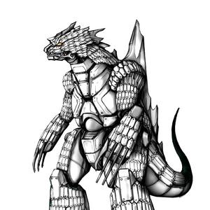 Concept Art - Godzilla Against MechaGodzilla - Kiryu 31.png
