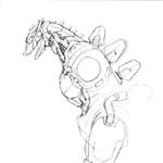 Concept Art - Godzilla Against MechaGodzilla - Kiryu 43.png