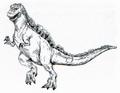 Concept Art - Godzilla vs. Destoroyah - Godzilla Junior 8