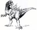 Concept Art - Godzilla vs. Destoroyah - Godzilla Junior 2