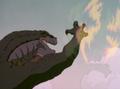 Zilla Junior vs Giant Mutant Hummingbird
