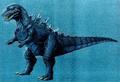 Concept Art - Godzilla vs. Destoroyah - Godzilla Junior 15