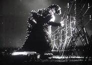 Godzilla 1954 Scena de Godzilla