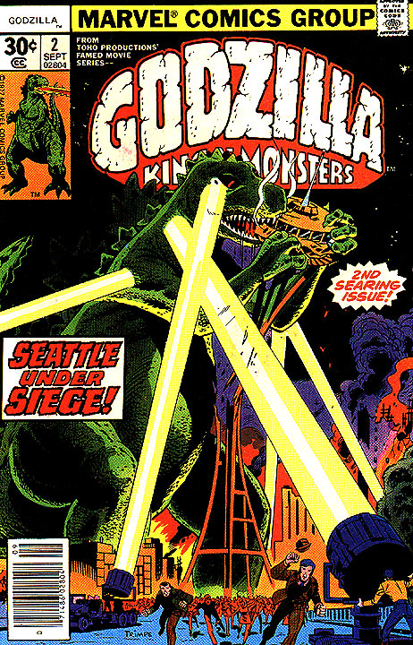 Godzilla, King of the Monsters (Marvel) Issue 2