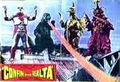 Godzilla vs. Megalon Poster Italy 5