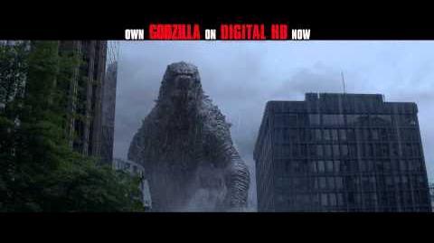 Godzilla - TV Spot 3 - Available Now on Digital HD
