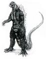Concept Art - Godzilla vs. Destoroyah - Godzilla Rebirth 1
