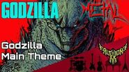 Godzilla - Main Theme 【Intense Symphonic Metal Cover】