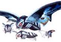 Concept Art - Rebirth of Mothra 3 - Mothra Leo 2
