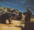 GVG - Godzilla and Anguirus
