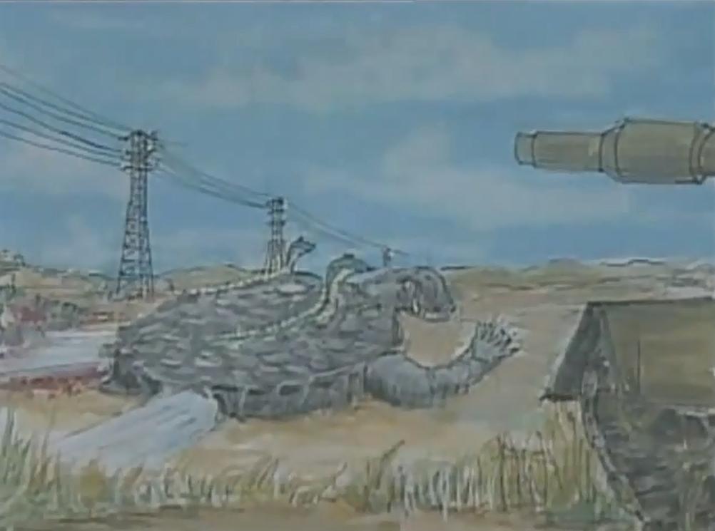 Gamera vs. Garasharp Storyboard 8.png