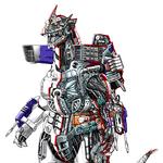 Concept Art - Godzilla Against MechaGodzilla - Kiryu 17.png