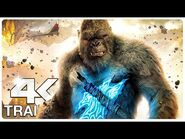 GODZILLA VS KONG - 7 Minute Trailers (4K ULTRA HD) NEW 2021