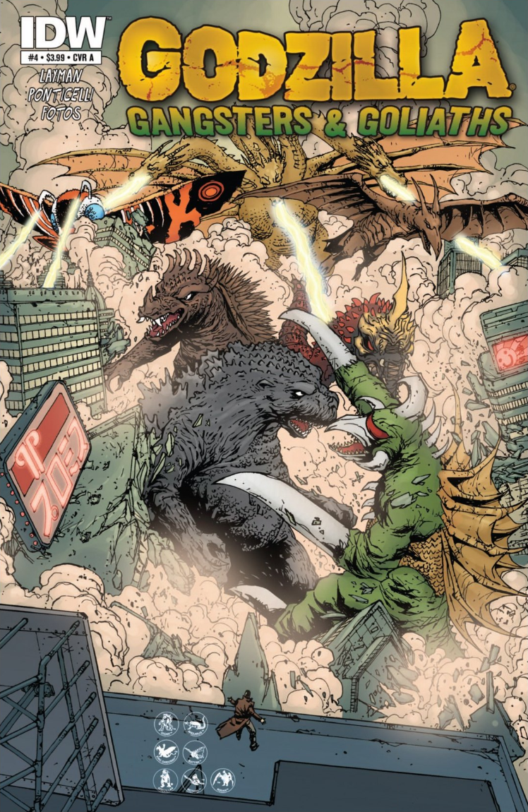 Godzilla: Gangsters and Goliaths Issue 4