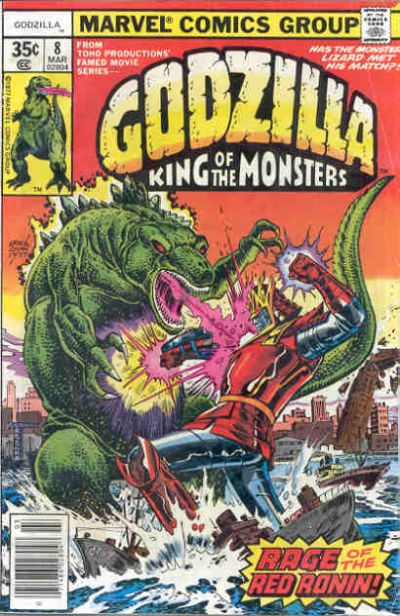 Godzilla, King of the Monsters (Marvel) Issue 8