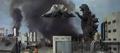 Godzilla vs. Hedorah 1 - Godzilla fighting Flying Hedorah