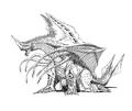 Concept Art - Rebirth of Mothra 2 - Dagahra 15