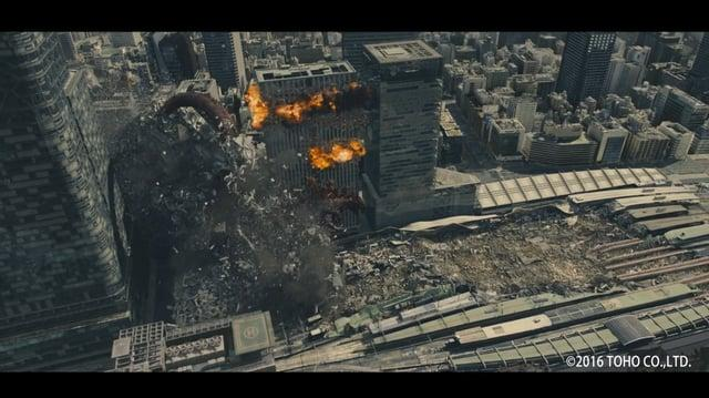 Shin Godzilla - Destruction Reel