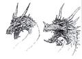 Concept Art - Rebirth of Mothra 3 - Grand King Ghidorah 5
