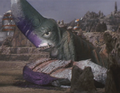 Gamera - 5 - vs Guiron - 19 - Guiron Murders Space Gyaos In Cold Blood