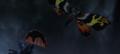 Godzilla Final Wars - 5-4 Gigan Cuts Mothra's Wing