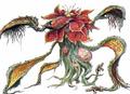 Concept Art - Godzilla vs. Biollante - Biollante Rose 13