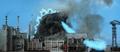 Godzilla SoshingekiGoji Destroys New York with Atomic Breath in 1999 DAM Destroy All Monsters