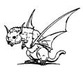 Concept Art - Godzilla vs. King Ghidorah - Dorat 9