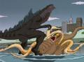 Zilla Junior vs Medusa