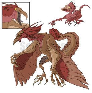 """Quetzalcoatl in """"Bird of Paradise"""""""