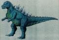 Concept Art - Godzilla vs. Destoroyah - Godzilla Junior 16