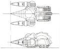 Concept Art - Godzilla vs. SpaceGodzilla - Land Moguera 1