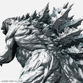 Godzilla Planet of the Monsters - Godzilla Earth render - 00003