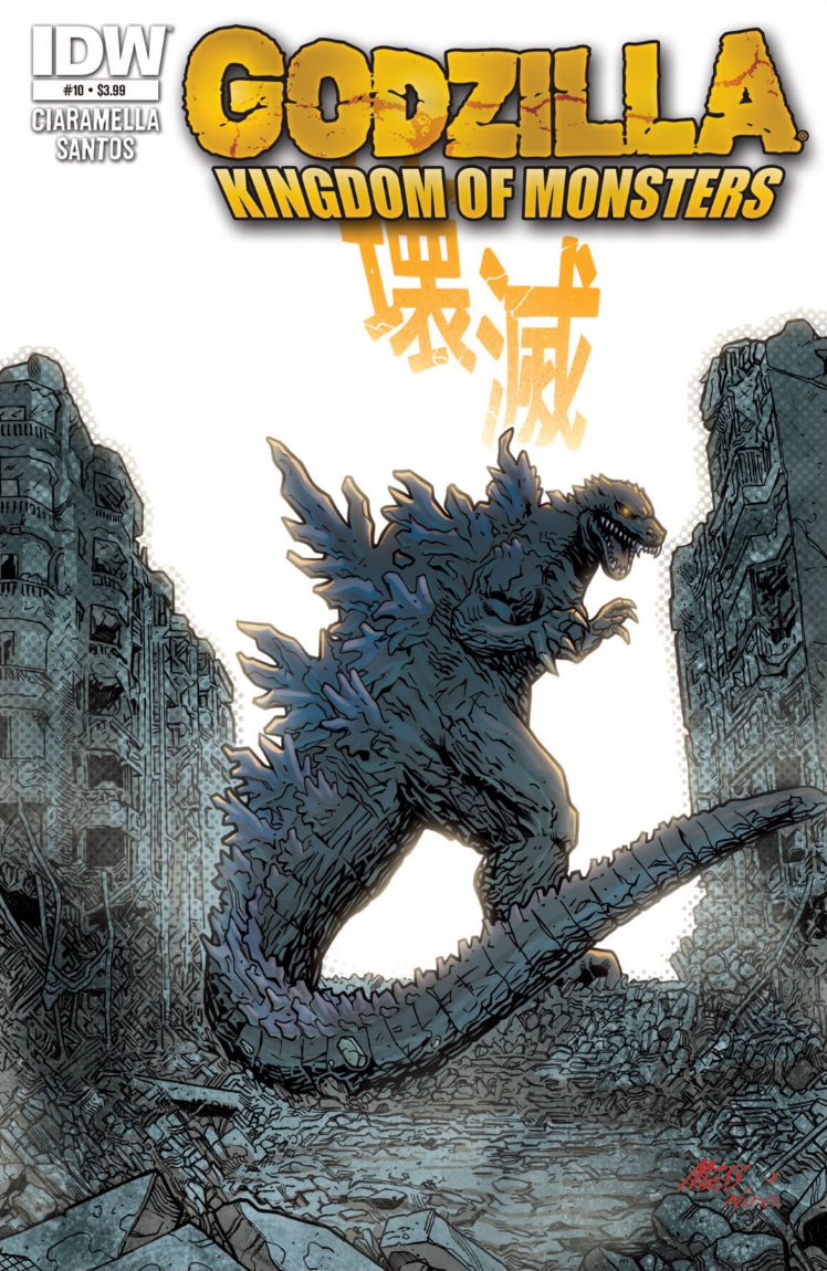 Godzilla: Kingdom of Monsters Issue 10