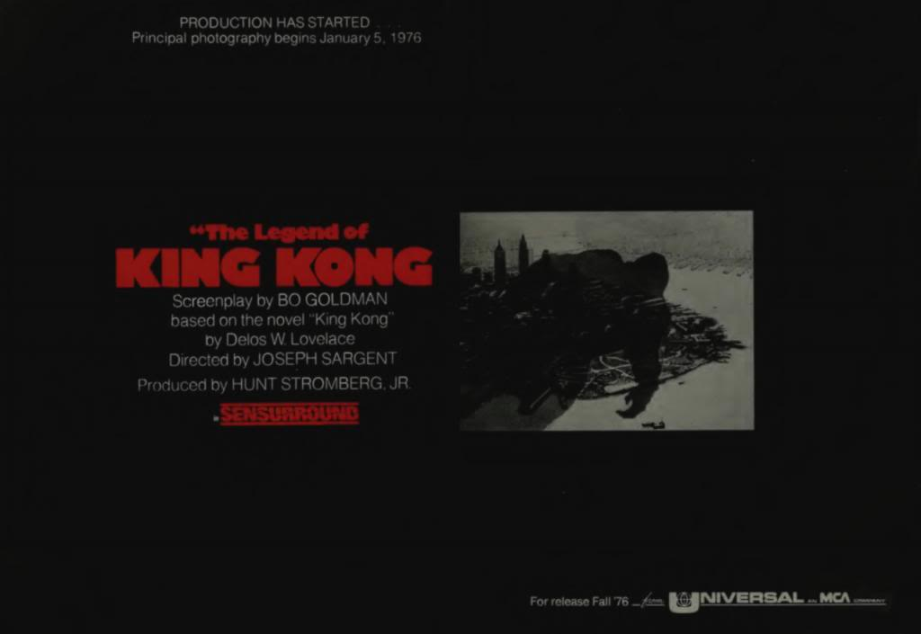 The Legend of King Kong