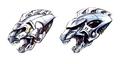 Concept Art - Godzilla Against MechaGodzilla - Kiryu Head 5