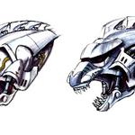 Concept Art - Godzilla Against MechaGodzilla - Kiryu Head 5.png