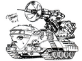Concept Art - Godzilla vs. Destoroyah - DAG-MB96 1