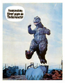 Godzilla vs. Hedorah Lobby Card Germany 3