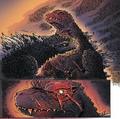 Doppelganger Demon in its Godzilla Form