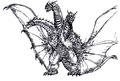 Concept Art - Rebirth of Mothra 3 - Grand King Ghidorah 3