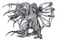 Concept Art - Rebirth of Mothra 3 - Grand King Ghidorah 2