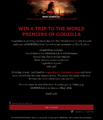Win Godzilla Tickets World Premiere